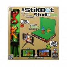 Игровой набор для анимационного творчества STIKBOT S1 – СТУДИЯ Z-SCREEN (2 экскл. фиг.,штатив,сцена) от Stikbot - под заказ