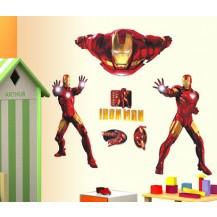 Интерьерная наклейка на стену Iron man (AY9068)