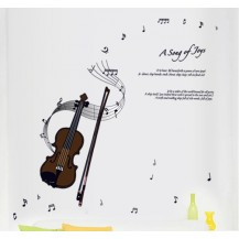 Интерьерная наклейка на стену Скрипка (ay7180)