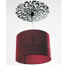 Интерьерная наклейка на потолок и углы Узоры (JM8026)