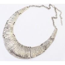 Ожерелье колье серебристое tb1204