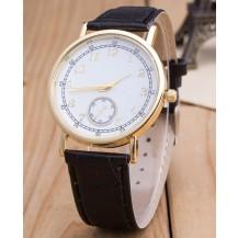 Часы Женева Geneva Питон черный ремешок 023-03