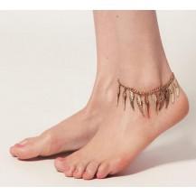 Браслет на ногу Крылья бронза tb1395