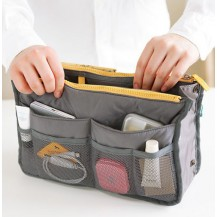 Органайзер для сумочки, серый