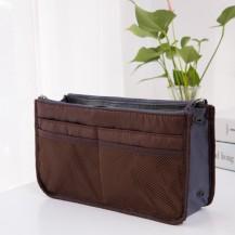 Органайзер для сумочки, темно-коричневый