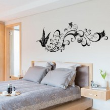 Интерьерная наклейка на стену Птица Счастья SK9082