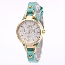 Часы женские Rinnady тонкий ремешок Мята 088-5