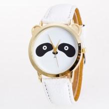 Часы женские Панда белые 108-1