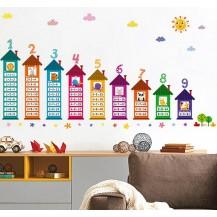 Интерьерная наклейка на стену Детская - Таблица Умножения XH9283