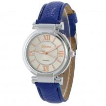 Часы женские наручные Geneva Wish синий ремешок 129-1