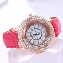 Женские часы gogoey Crystal россыпь розовые 51-04