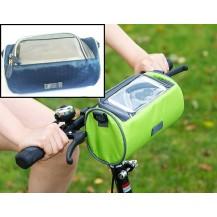 Сумка для путешествий, Велосумка на руль под смартфон (Синяя)