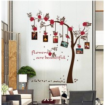 Интерьерная наклейка на стену Дерево с фото SK9086