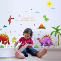 Детская интерьерная наклейка Планета Динозавров SK2013