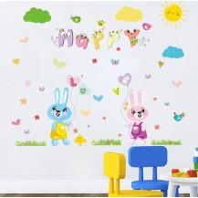 Детская интерьерная наклейка Счастливая Любовь XL8208