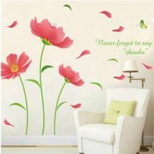 Интерьерная наклейка на стену Цветы XL8189