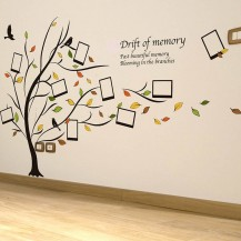 Интерьерная наклейка на стену Дерево с фото XL8153