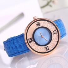 Часы женские Amni Star Синие 090-5
