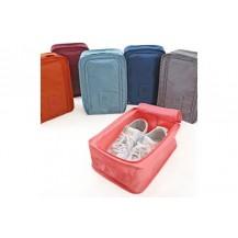 Дорожный органайзер сумка чехол для обуви, в зал или на пляж. Голубой