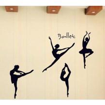 Интерьерная наклейка на стену Танцовщица (AY9061)