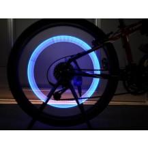 Неоновая подсветка для колес велосипеда Голубая
