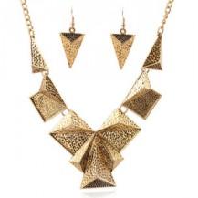 Набор ожерелье и серьги бронза tb1217