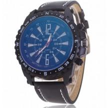 Часы мужские копия Weide черный циферблат 028-04