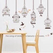 Интерьерная наклейка на стену Птицы SK9088