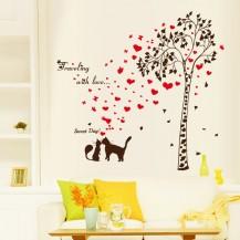 Интерьерная наклейка на стену Любовь SK9208