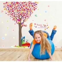 Интерьерная наклейка на стену Детская - Дерево XL8156