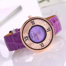 Часы женские Amni Star Сиреневые 090-6