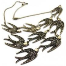 Ожерелье колье Птицы tb742