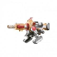 Баттлбот - трансформер – ПУШКА (30 cm, бластер, мишень, 20 стрел) от Dinobots - под заказ