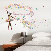 Интерьерная наклейка на стену Балерина HM92010