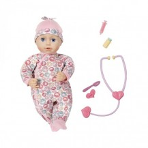 Интерактивная кукла BABY ANNABELL -  ДОКТОР (43 см, с аксессуарами) от Zapf - под заказ