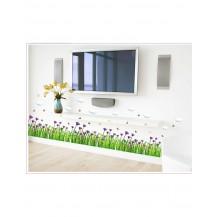 Интерьерная наклейка на стену Цветочный Бордюр SK7005
