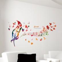 Интерьерная наклейка на стену Музыка XL7135