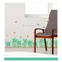 Интерьерная наклейка на стену Тропический бордюр SK7129