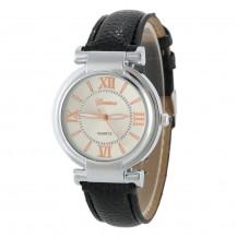 Часы женские наручные Geneva Wish черный ремешок 129-6