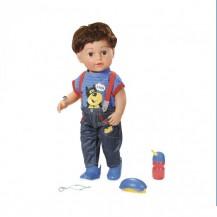 Кукла BABY BORN - СТАРШИЙ БРАТИК (43 см, с аксессуарами) от Zapf - под заказ