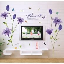 Интерьерная наклейка на стену Цветы SK9122B