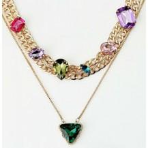 Колье Ожерелье Asos с камнями tb730