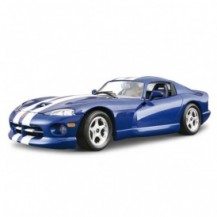 Авто-конструктор - DODGE VIPER GTS COUPE (1996) (синий, 1:24)