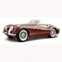 Авто-конструктор - JAGUAR XK 120 ROADSTER (1948) (вишневый, 1:24)