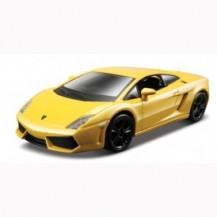 Авто-конструктор - LAMBORGHINI GALLARDO LP560-4 (2008) (красный, желтый металлик, 1:32)