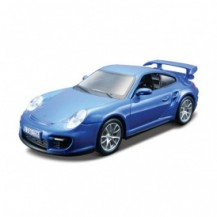 Авто-конструктор - PORSCHE 911 GT2 (голубой, 1:32)