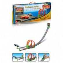 Игровой набор - ТРЕК СКОРОСТНАЯ ПЕТЛЯ (2 дорожки + 2 машинки)
