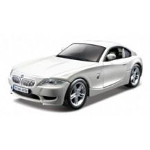 Автомодель - BMW Z4 M COUPE (ассорти белый, синий  металлик,  1:32)