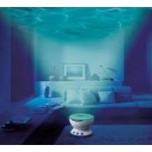 Ночник - вода на потолке