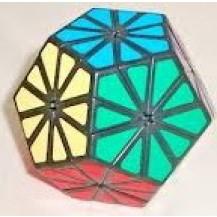 Кубик рубика пятиугольный Ромашка (Кристалл)